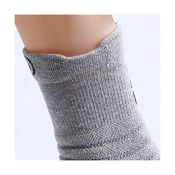 Ankle Athletic Socks Low Cut Breathable Cushion Running Socks with Arch Support 6Pairs