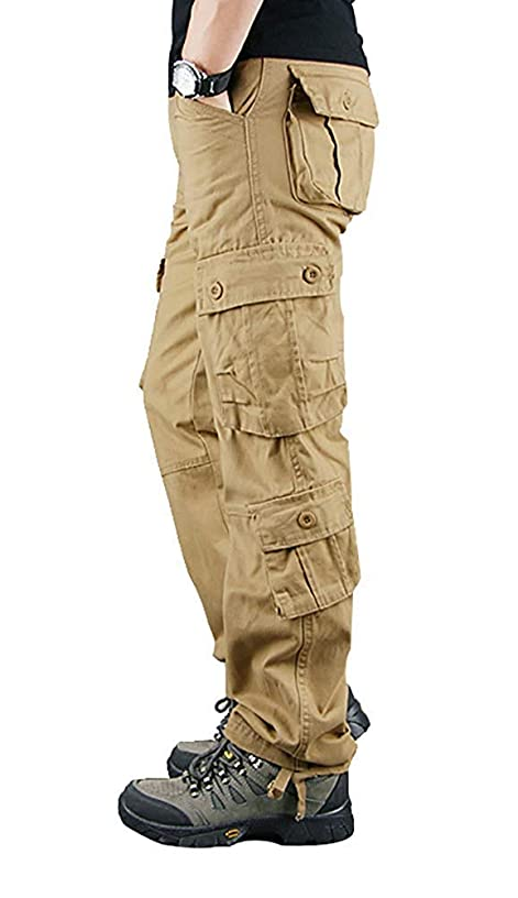 マリナー制裁免除(シティヤング)Cityoung メンズ カーゴパンツ 作業着 多機能 ズボン ミリタリー ワークパンツ 6ポケット/8ポケット