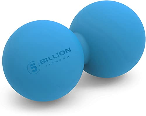5BILLION Peanut Massage Ball - Double Lacrosse Massage Ball & Mobility Ball for Physical Therapy - Deep Tissue Massag...