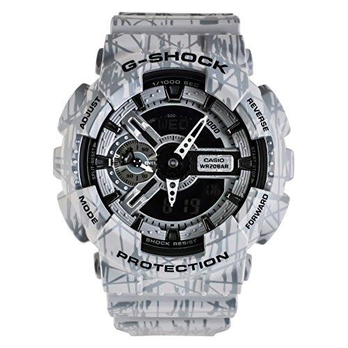 Casio Herren-Armbanduhr Analog, digital Quarz One Size, schwarz/grau, grau