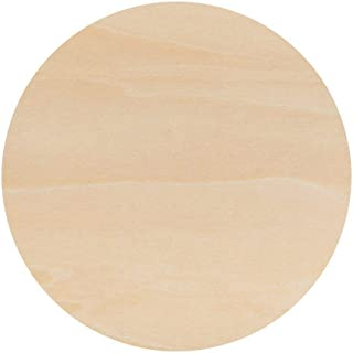 Coasters for Drinks Absorbent-100% Natural Wood coaster-Set of 4 Coasters-4 Inch Round In Diameter-Prevent Furniture From damage,Centerpiece For Home Office Table