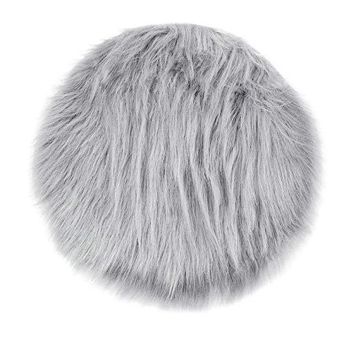 Tapis en peau de mouton synthétique - En fausse fourrure - Super doux - Aspect fourrure d