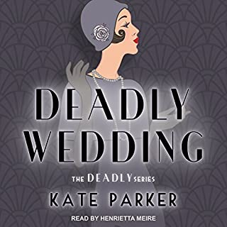 Deadly Wedding audiobook cover art