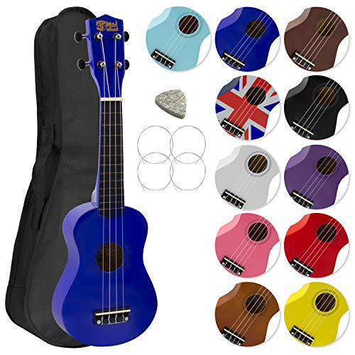 Mad About 2030-BL - Ukelele, color azul