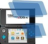 4ProTec I 4X ANTIREFLEX matt Schutzfolie für New Nintendo 2DS