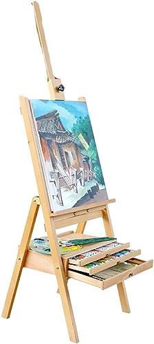 Envío y cambio gratis. YXWhj Caballetes Caballete de Mesa Mesa Mesa de Madera, Haya, Color Madera, para Pintar y Dibujar, fácil Plegado del Artista Accesorios para Sierras  muy popular