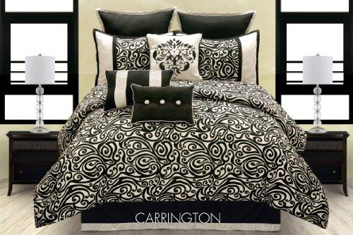 Hallmart Collectibles Carrington Comforter Set, King, 10 Piece