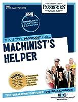 Machinist's Helper (Career Examination)