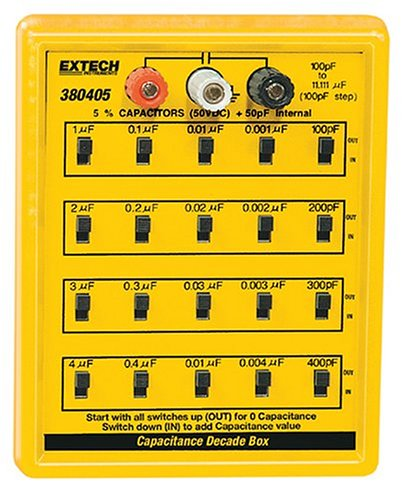Extech 380405 Capacitance Substitution Box