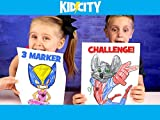 Three Marker Challenge: Superhero Edition!