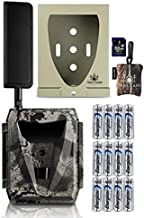 Spartan GoCam Ghost 4G LTE Wireless Camera with Batteries, SD Card, Security Case, and Spudz Microfiber Cloth Screen Cleaner (VERIZON)