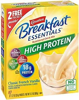 6-Pack Carnation Breakfast Essentials High Protein Powder Drink Mix