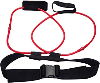 Booty Resistance Bands Set | Fitness Training Resistance Belt | Leg Strength Training Muscle Belt Band | Butt Lifter, Firm and Sculpt Perfect Bikini Booty. (Red-20LB)