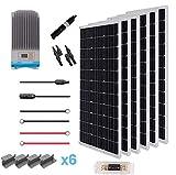 Renogy 600W 12V Solar Premium Kit W/ 6 Pcs 100W Solar Panel+60A MPPT Charge Controller+Solar...