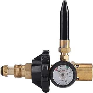 Herramienta de globo - inflando el globo for inflar con aire Regulador Reglamento de presión con válvula del manómetro medidor de flujo de aire