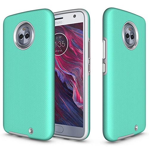 Bear Motion for Moto X4 - Shockproof TPU/PC Fusion Cover Case for Moto...