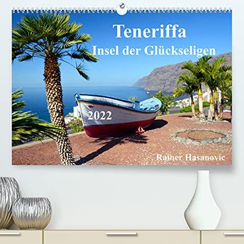 Teneriffa - Insel der Glückseligen (Premium, hochwertiger DIN A2 Wandkalender 2022, Kunstdruck in Hochglanz): Traumhafte Bilder einer faszinierenden Insel (Monatskalender, 14 Seiten )