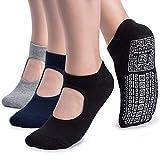 Non Slip Grip Yoga Socks for Women...