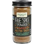 Frontier Five Spice Powder, 1.92-Ounce Bottle