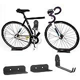 Knowled Support Mural vélo Crochet de Rangement Vertical Porte vélo 100KG - pour Maison/Magasin/Garage