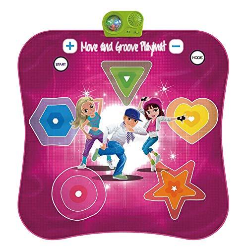 GH-YS Tapete de Baile Iluminado, Juegos de Baile Estilo Arcade con Pistas de música incorporadas, tapete de Juego de Ritmo y Ritmo de desafío de Baile de Juguetes