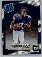 2017 Donruss Optic Football #193 Dalvin Cook Minnesota Vikings Rated Rookie