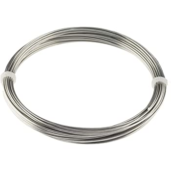 Annealed Wire 0.0138 inch // 0.35 mm Stainless steel annealed wire 1006,5 feet // 330 meter 316L