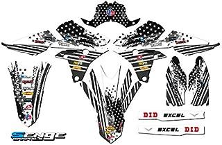 Team Racing Graphics kit compatible with Kawasaki 2016-2018 KXF 450 SCATTER