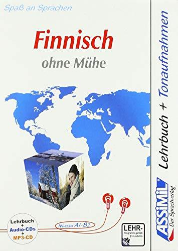 ASSiMiL Finnisch ohne Mühe - Audio-Plus-Sprachkurs - Niveau A1-B2: Selbstlernkurs in deutscher Sprache, Lehrbuch + 4 Audio-CDs + 1 MP3-CD