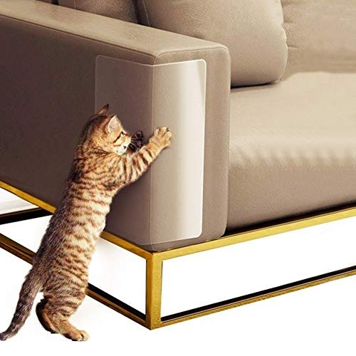 Cicony Möbel-Kratzschutz, Anti-Katzenkratz-Schutzband, 8er-Pack PVC-Katzenkratzschutz, 43 * 30 cm