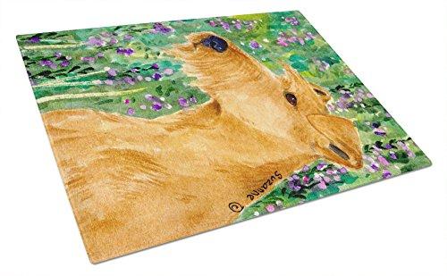 3-Caroline's Treasures Irish Terrier Glass Cutting Board