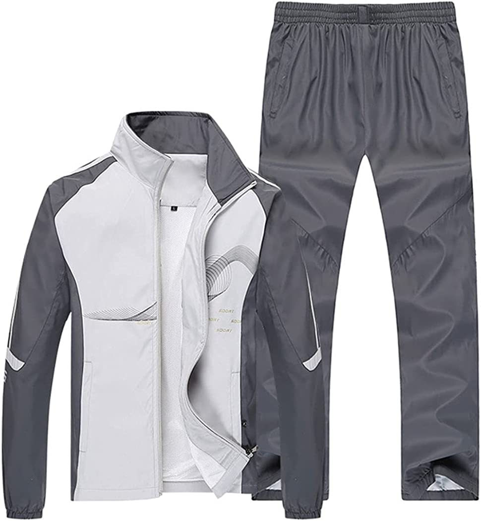 Classic Real Spark Men's Full Zip Jacket Pants Jogger Sale Special Price and Tracksuit Casu