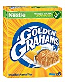 Cereales Nestlé Golden Graham Barritas de Cereales con Maíz y Trigo Tostado - 6 barritas de cereales, 6 x 25g