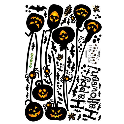 Muurstickers Jhpingnew Halloween Muursticker 2 Pc Horror Deur Sticker Halloween Horror Muursticker 0808#30@.