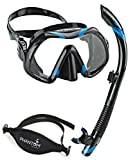 Atomic Venom Dive Mask and SV2 Snorkel Combo With Neo Strap ...