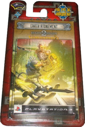 The Eye of Judgment Starterdeck Earth Atonement Biolith Rebellion 2 Englisch [Import Anglais]
