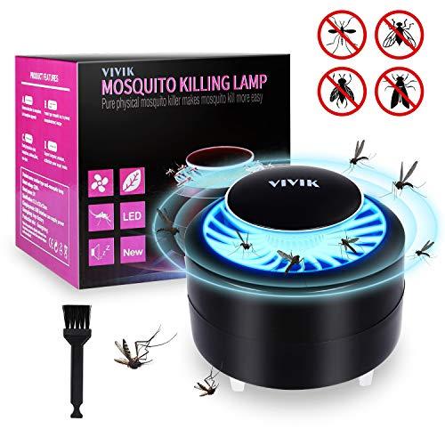 VIVIK Bug Zapper Indoor,Fly Trap,Mosquito Trap,Insects Killer,Insect Killer Zapper,Insect Zapper,Mosquito Zapper,Mosquito Attractant Trap,Fly Zapper for Indoor & Outdoor (5.32 in)