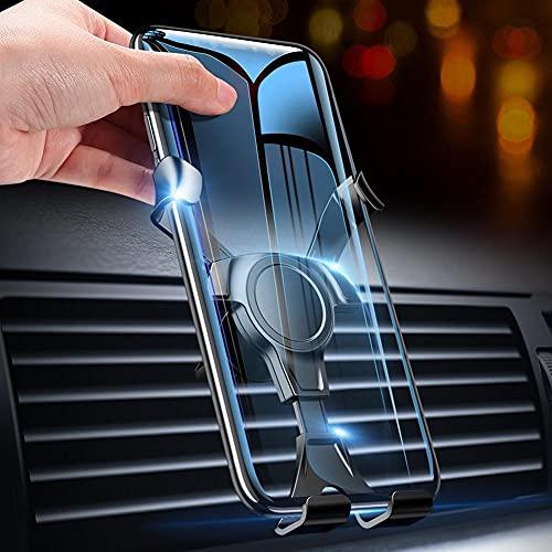 ZBYL Soporte Móvil Coche para Rejilla del Aire Ventilación Soporte Móvil Télefono Coche Universal, Rotación de 360° del, para teléfonos Inteligentes de 4-6 Pulgadas