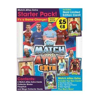Match Attax Extra 2017//18 Trading Card Mini Estaño