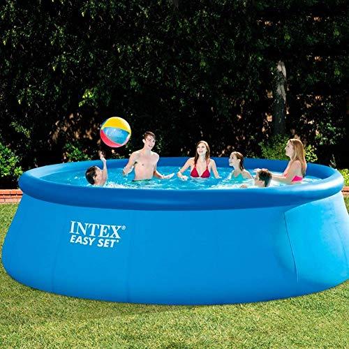 Intex 56912GS - Easy-Set-Pool circa 457 x 122 cm mit Pumpe