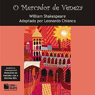 O Mercador de Veneza [The Merchant of Venice] audiobook cover art