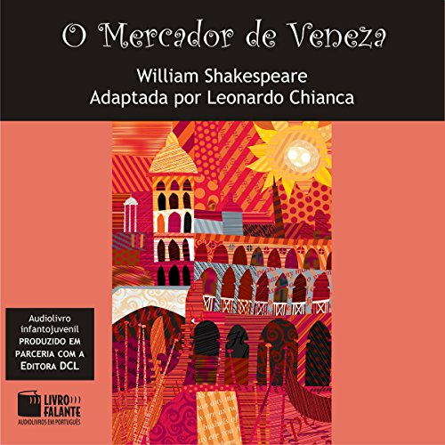 O Mercador de Veneza [The Merchant of Venice] audiobook cover art