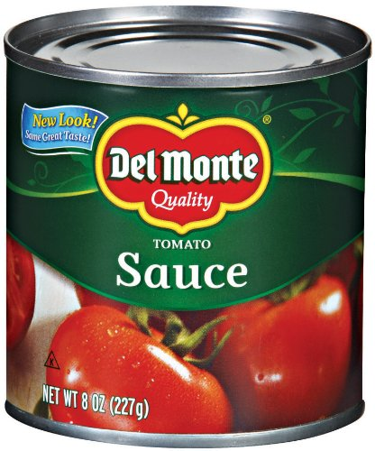 Del Monte Tomato Sauce, 8-Ounce (Pack of 8)