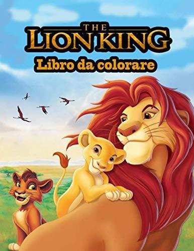 The Lion King libro da colorare