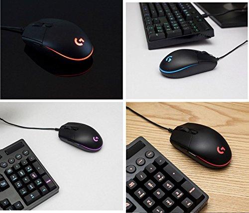 『Logitech G102 IC PRODIGY ゲーミングマウス オプティカル 6,000DPI, 16.8M Color LED Customizing, 6 Buttons -Bulk Package- [並行輸入品]』の8枚目の画像