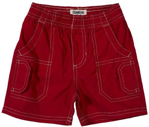 OshKosh B'Gosh 56/62 Shorts für Mädchen US Size 3 Month Kurze Hose Babyhose rot
