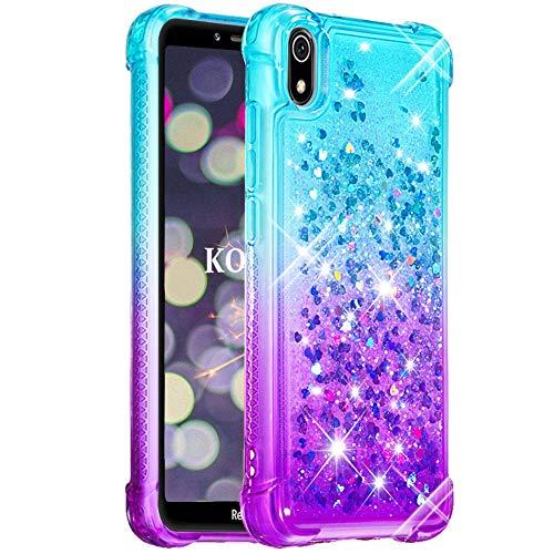 Silber Blau KOUYI iPhone 11 6,1 Zoll H/ülle Glitzer,Flie/ßen Fl/üssig Glitzer Mode 3D Bling Cute Dynamisch Clear Transparent Silikon Weich Flexible TPU Bumper Cover Besch/ützer