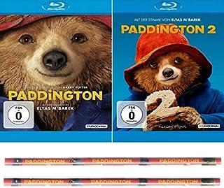 Paddington 1 + 2 (Bären 2er Set) Inklusive zwei Buntstifte