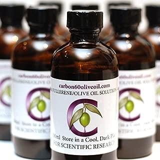 Research Grade Carbon 60 Olive Oil, 100ml bottle