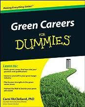 Best green careers for dummies Reviews